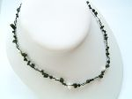 Black Onyx Single Strand Necklace